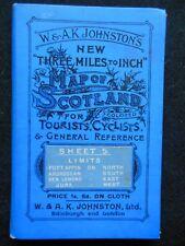 W & AK Johnston's Map of Scotland-c1895-Port Appin-Ardrossan-Ben Lomond