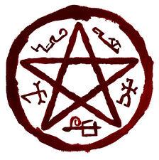 Encadrée Imprimer-Devils Piège Talisman (Photo Poster Supernatural Satanique De Démon art)