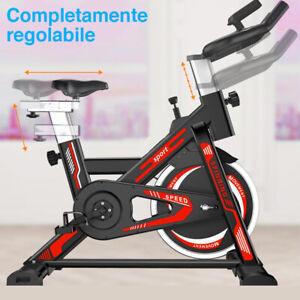 Spinning Bike Cyclette Per Allenamento Gambe Casa e Palestra Tenersi In Forma