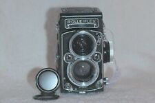 Rolleiflex 2.8 E-II Xenotar with Cap TLR Film Camera