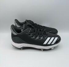 Adidas Men's Icon Bounce Low Metal Baseball Cleats - Black - CG5241 - Size 10.5