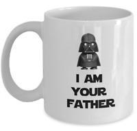 Star Wars coffee mug - I am your father Darth Vader Anakin Skywalker funny gift