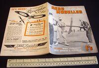 Vintage Aeromodeller Magazine (Oct 1953). Engine Analysis McCoy 049 Diesel.