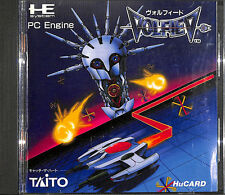 VOLFIED NEC PC-Engine Hu CARD TAITO PCE Japan Import TG-16 DUO Complete RARE !