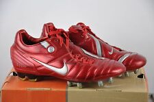 Nike ZOOM TOTAL 90 Supremacy FG Gr. 39 UK 6 Classic Boots Red soccer Shoes