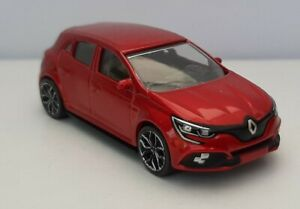 Norev 3 inches 1/60 .multigam. Renault Megane Rs rouge. Neuf sans boite Loose .