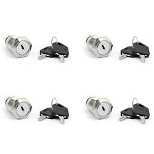 4PCS Auto Metal Ignition Key Push Button Switch 19mm 36V/2A For Car/Boat/DIY