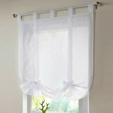 Polyester Voile Curtain With Matching Piping Kitchen Cafe Net Curtains Ornament