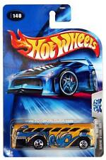 2004 Hot Wheels #140 Tag Rides 3/5 Surfin' S'Cool Bus B3861-0714C crd