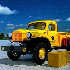 ON SALE - TIGER PAW EXCAVATING 1949 Dodge Power Wagon -  First Gear RFN