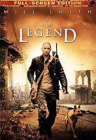 I Am Legend (DVD, 2008, Full Frame)