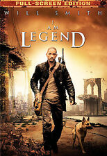 I Am Legend (DVD, 2008, Full Frame)- WILL SMITH  New Sealed  With Free Shipping