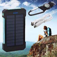 2USB 50000MAH/80000MAH SOLAR POWER CHARGER CHARGING POWER BANK BATTERY FOR PHONE