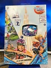 Super Hero Girls HD Action Camcorder Adventure Camera Video Outdoor ~Mountable