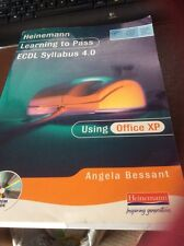 Learning to Pass ECDL 4.0 for Office XP by Angela Bessant (Mixed media...