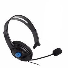 Nuevo sola cara animado & Comfort Fit Diadema Con Micrófono Para PS4 & Xbox One