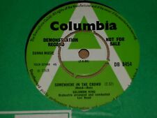 """Solomon King """"Somewhere In The Crowd"""" Columbia Demo 45"""