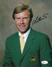 Ben Crenshaw 84 Masters #0  8x10 Signed W/JSA Certification  Golf  04118