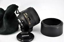 Nikon 85mm AF-S NIKKOR f1.8G Lens Excellent condition
