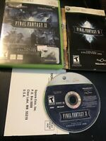 Final Fantasy XI: Vana'diel Collection Microsoft Xbox 360 2007 Complete Tested