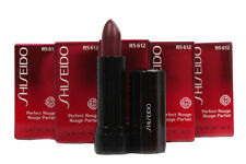 Shiseido Perfect Rouge Lipstick RS 612 Gilded Wine .08oz TRAVEL SIZE LOT OF 5