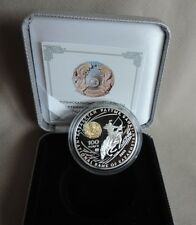 Kazakhstan 2008 - Chingiz Khan 1 Oz Silver Proof Coin in BOX & CoA - 100 Tenge