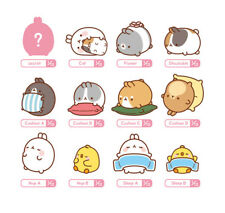 """Molang 2"""" Mini Figure Ver.3 (1) Sealed Random Pack Collectible Toy Cute Rabbit"""