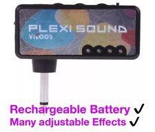 RECHARGEABLE✔️Vitoos Guitar Plug In Mini Headphone Amplifier Adjustable Effects