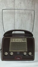 Ancien Vintage Poste de RADIO TSF à Lampes // RADIOLA // En BAKELITE