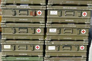 ABHOLUNG 1x Zarges Kiste Transport Box A5 Alu Bundeswehr Army 60x40x25 ABHOLUNG
