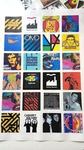 24 STICKERS Hacienda FAC51 Factory Records Joy Division Happy Mondays Madchester