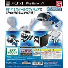 bandai gashapon! Collection PS 4 & PS VR Gashapon 4 set mini figure capsule toys