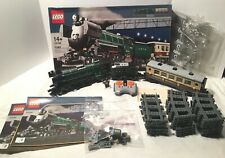 Lego 10194 Emerald Night Train+POWER FUNCTIONS+Box Instruct Track Decals Xtras!