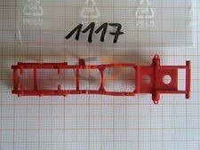 10x ALBEDO Ersatzteil Ladegut Chassis Oberteil rot 1:87 - 1117