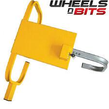 "CAR VAN WHEEL 13"" TO 16"" INCH STEEL CLAMP ADJUSTABLE SAFETY LOCK CARAVAN TRAILER"