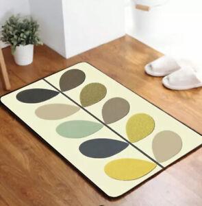 Orla Kiely Door Mat | Print | Designer | Bath Mat | Brand New For 2021 |