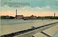 Texas, TX, Dallas, Pumping Station & Water Filtration Early Postcard