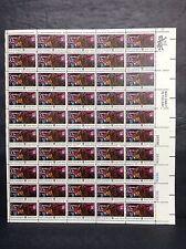 #1559 American Bicentennial Sybil Ludington Full Sheet of 50 Mnh Og