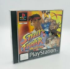 SONY PS1/PLAYSTATION 1 STREETFIGHTER COLLECTION CAPCOM GAME PAL 1991-1997