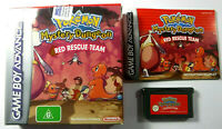 Pokemon Mystery Dungeon Red Rescue Team Nintendo GameBoy Advance Complete
