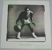 NITF Vintage NIKE Basketball Poster Air Jordan FLIGHT Gerald Wilkins Promo Photo