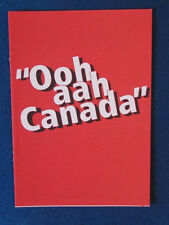Manchester United -  Ooh Aah Canada Competition Form - 1995-Canada Life- Cantona