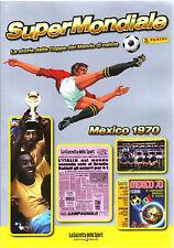 SUPER MONDIALE CALCIO - MEXICO 1970 - STORIA DELLA COPPA DEL MONDO - PANINI