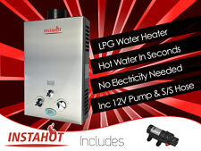 INSTANT LPG HOT WATER HEATER PORTABLE GAS SHOWER CAMP CARAVAN HORSE DOG PETWASH