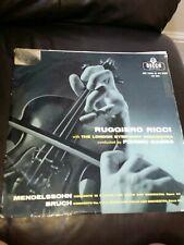 Ruggiero Ricci Mendelssohn Bruch Pierino Gamba Lxt 5334 Vinyl Record LP