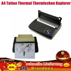 Tattoo Thermal Thermischen Kopierer Drucker Printer Thermotransfer Maschine Neu