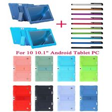Universal Silicone Tablet Cover Case Stand For 10 10.1 Inch Android Tablet PC
