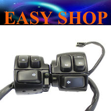 Handle Bar Switches Wires Harness Harley Davidson Hand Controls 1996-2006 Bike