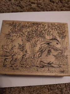 Stampa Rosa House Mouse Rubber Stamp 250 Carrot Harvest (Mudpie)  1998 Z1