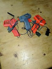 IDEAL TCR SLOT CAR  HAND CONTROLLERS. USE FOR SPARES OR REPAIR.SET OF 3